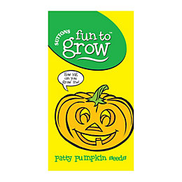 Suttons Fun to Grow Patty Pumpkin Seeds