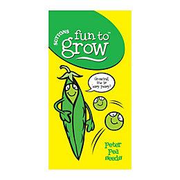 Suttons Fun to Grow Peter Pea Seeds