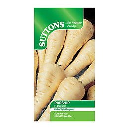 Suttons Parsnip Seeds, F1 Gladiator Mix