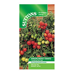 Suttons Tomato Seeds, Tumbling Tom Red Mix