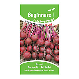 Suttons Beginners Beetroot Seeds, Action Mix