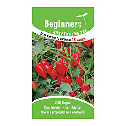 Suttons Beginners Chilli Seeds, Lantern Mix