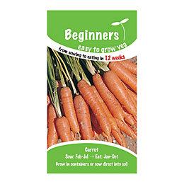 Suttons Beginners Carrot Seeds, Ideal Mix
