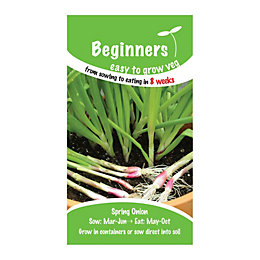 Suttons Beginners Spring Onion Seeds, Apache Mix