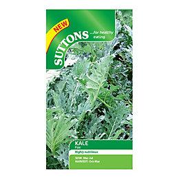 Suttons Kale Seeds, Fizz Mix