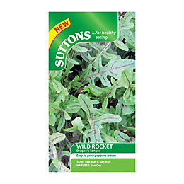 Suttons Wild Rocket Seeds, Dragons Tongue Mix