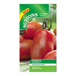 Suttons Tomato Seeds, San Marzano 2 Mix