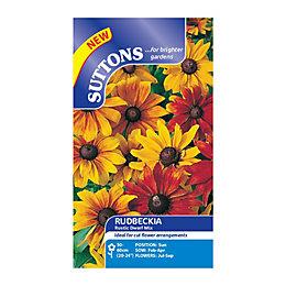 Suttons Rudbeckia Seeds, Rustic Dwarf Mix