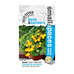 Suttons Small Space Tomato Seeds, F1 Sweet 'N'