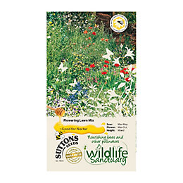 Suttons Wildlife Sanctuary Seeds, Flowering Lawn Mix
