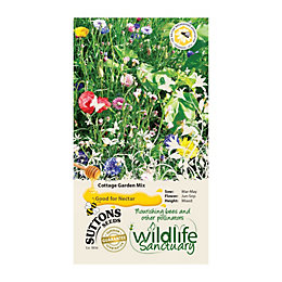 Suttons Wildlife Sanctuary Seeds, Cottage Garden Mix