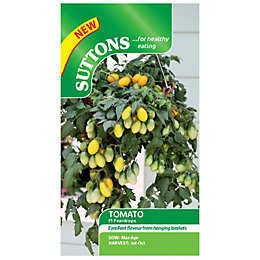 Suttons Tomato Seeds, F1 Pear Drops