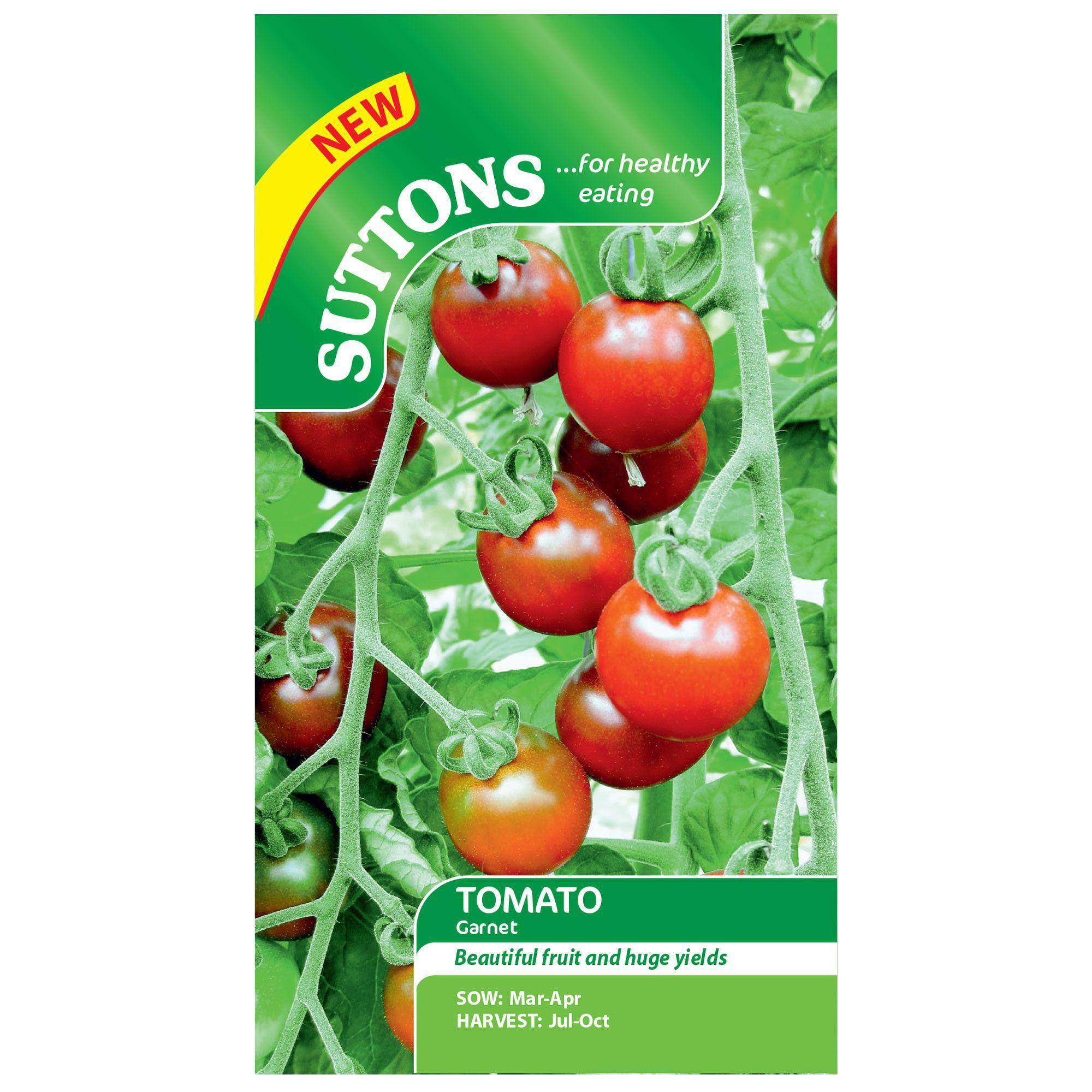 Suttons Tomato Seeds, Garnet