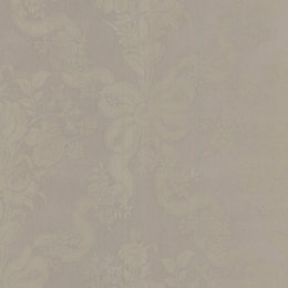 Graham & Brown Julien Macdonald Taupe Damask Wallpaper