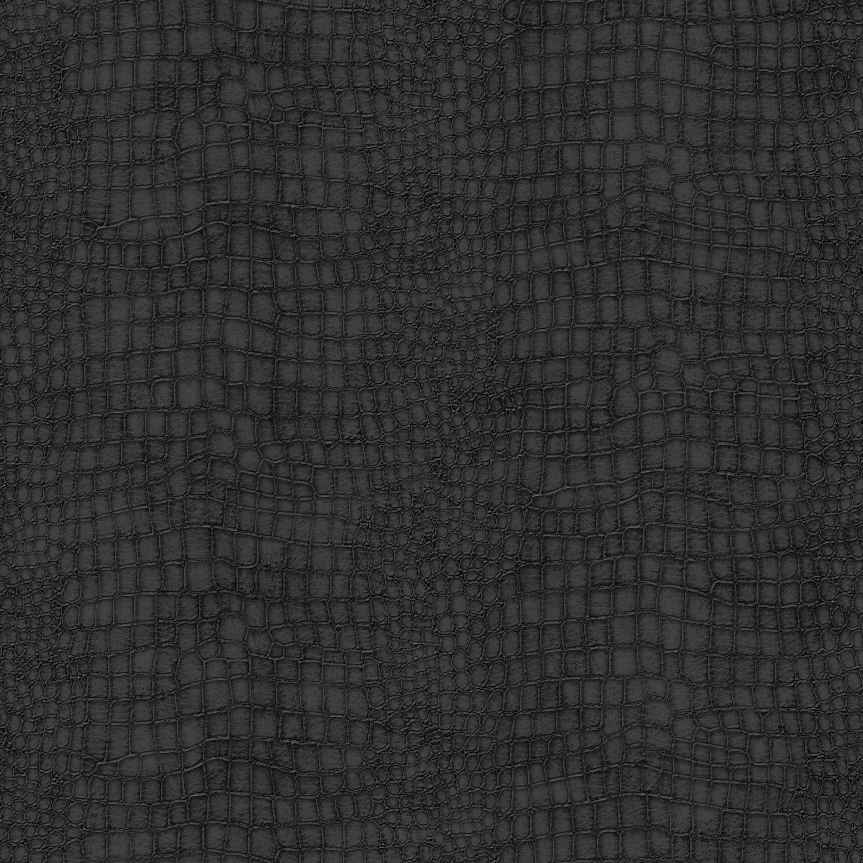Graham Amp Brown Black Crocodile Skin Wallpaper
