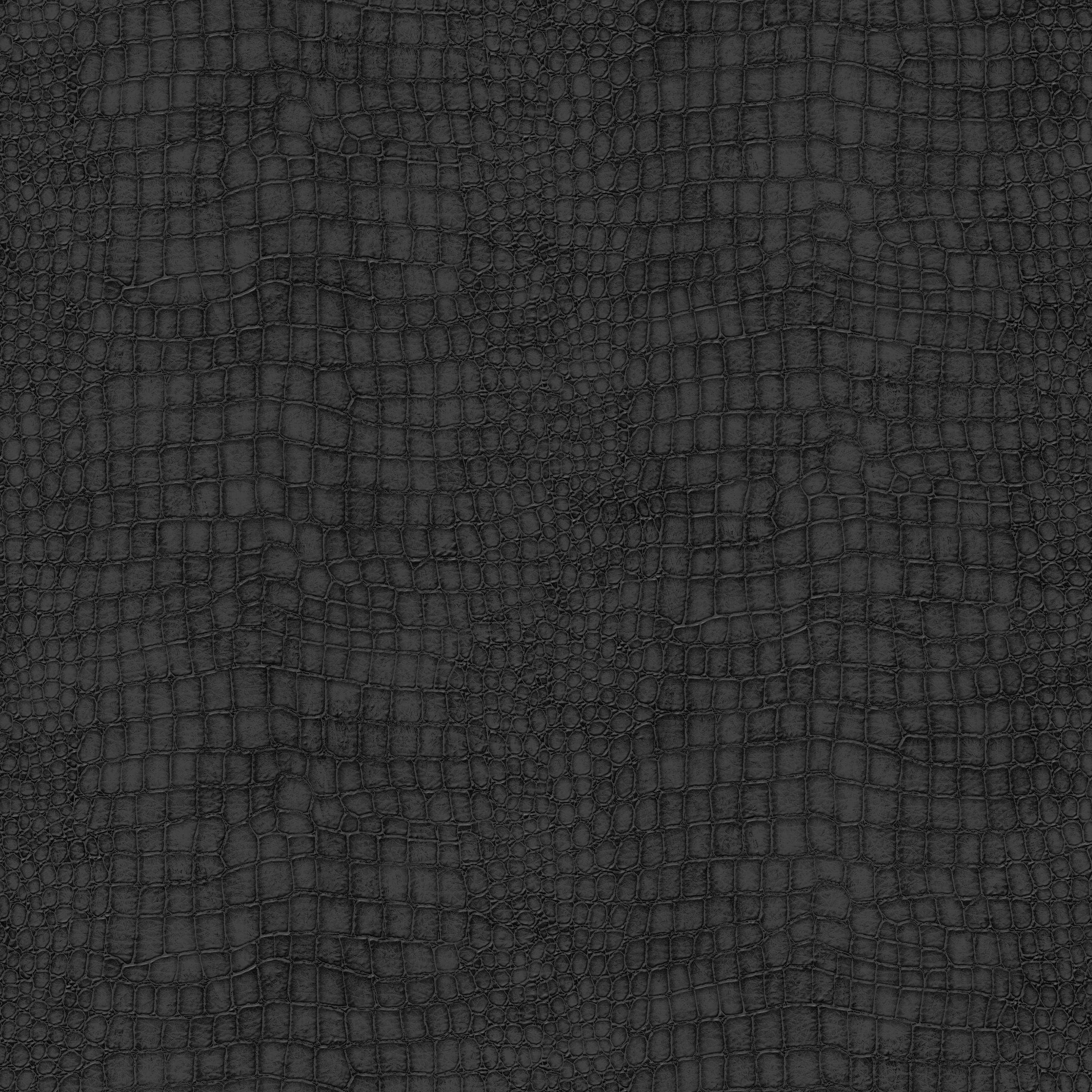 Graham U0026 Brown Black Crocodile Skin Wallpaper