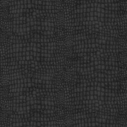 Graham & Brown Black Crocodile Skin Wallpaper