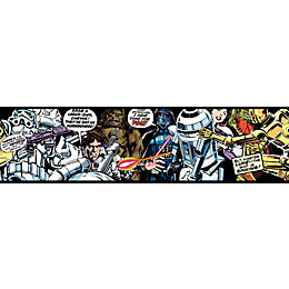Star Wars Multicolour Comic Border