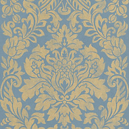 Graham & Brown Artisan Blue & Gold Gloriana