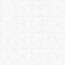 Craig & Rose Tile White Tile Wallpaper