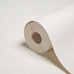 Graham & Brown Superfresco White Hessian Paintable Wallpaper