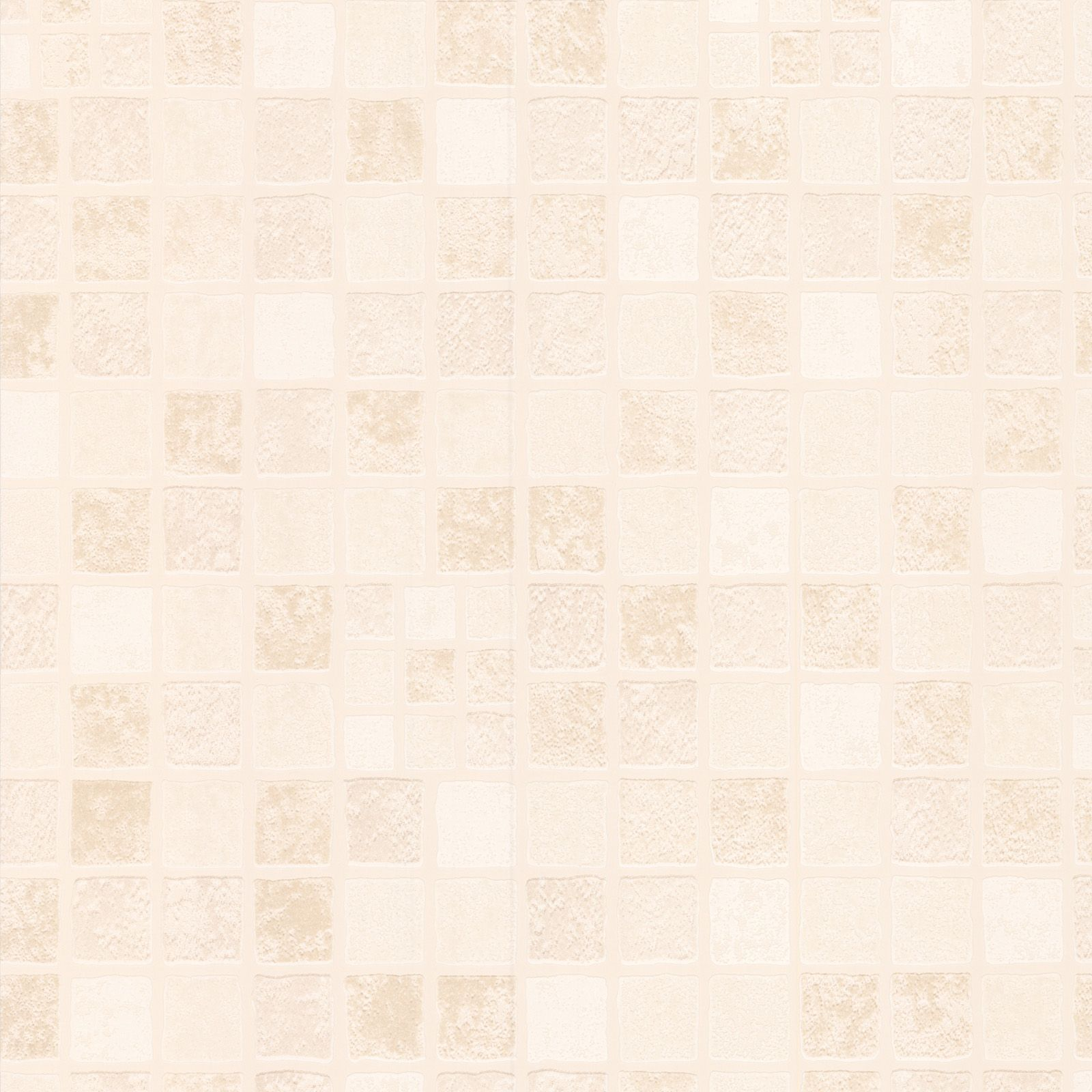 Cornish Stone Effect Wallpaper From B Q: Contour Earthern Beige Tile Wallpaper