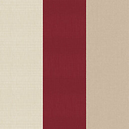 Graham & Brown Superfresco Red Striped Wallpaper
