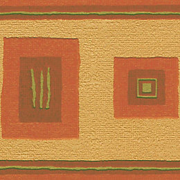 Paste The Paper Mirage Terracotta Border