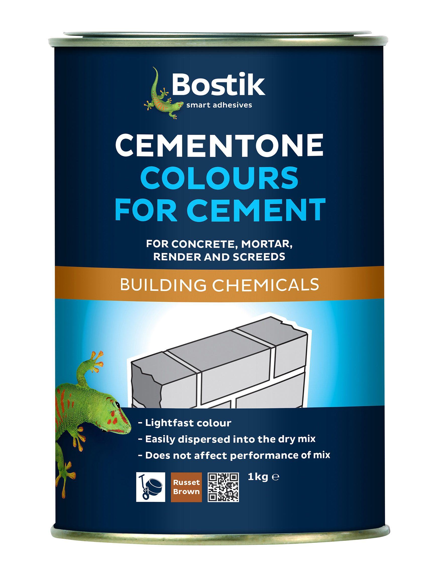 Bostik Cementone Black Cement colouring | Departments | DIY at B&Q