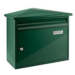 Yale Texas Green Post Box (H)345mm (W)405mm