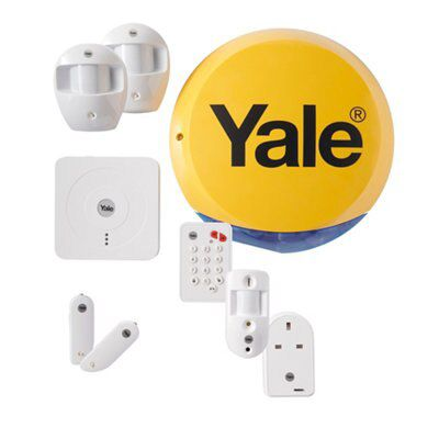 yale wireless smart home view control alarm kit sr 340 departments diy at b q. Black Bedroom Furniture Sets. Home Design Ideas