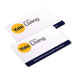 Yale Wireless RFID Key Card Twin Pack