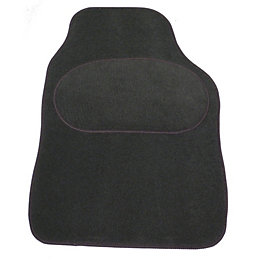 Sakura Universal Dark Grey Car Mat, Set of
