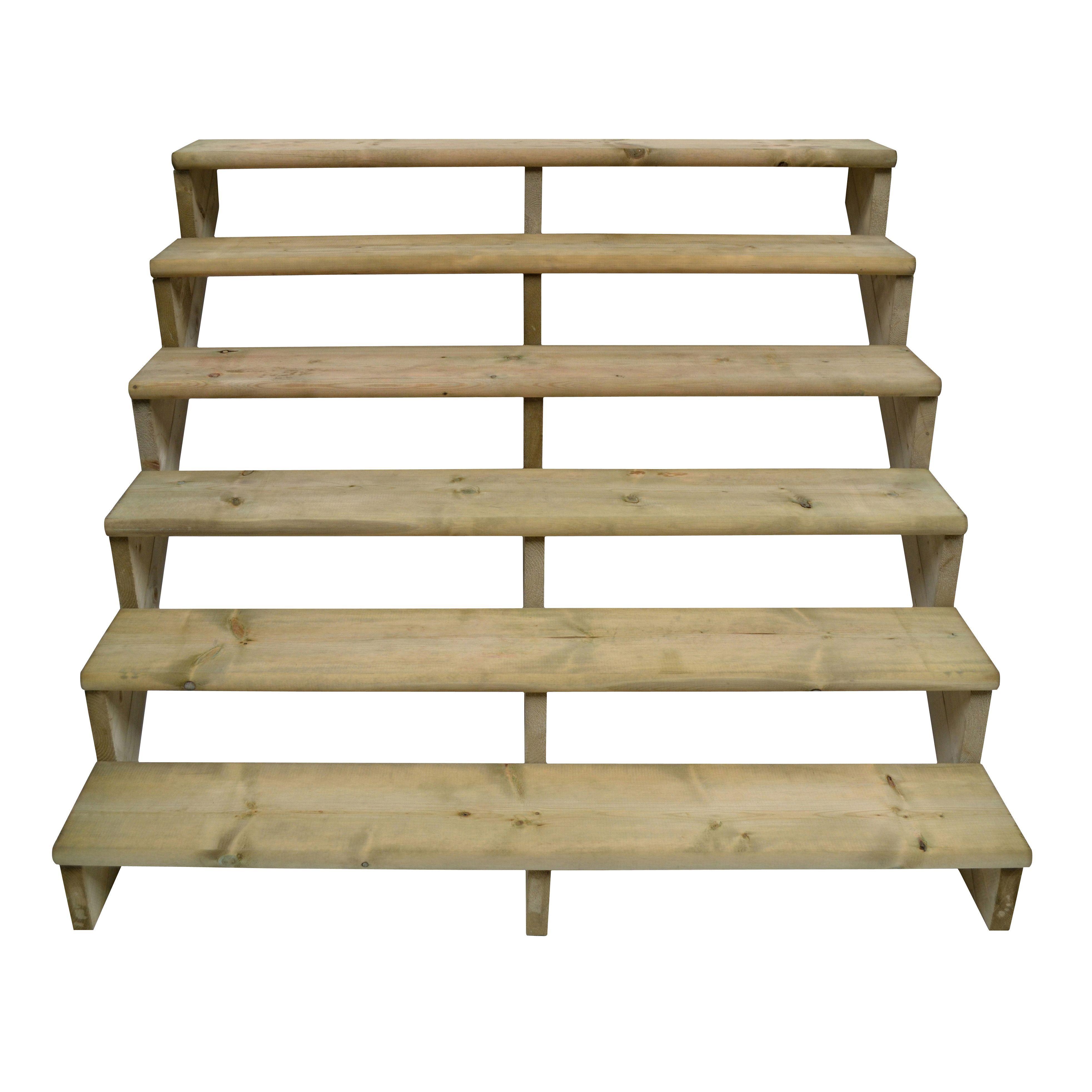 step deck stair kit departments diy at b q. Black Bedroom Furniture Sets. Home Design Ideas