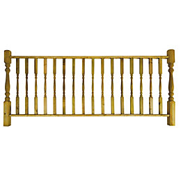 Balustrade Starter Kit, (L)2400mm (W)250mm Kit