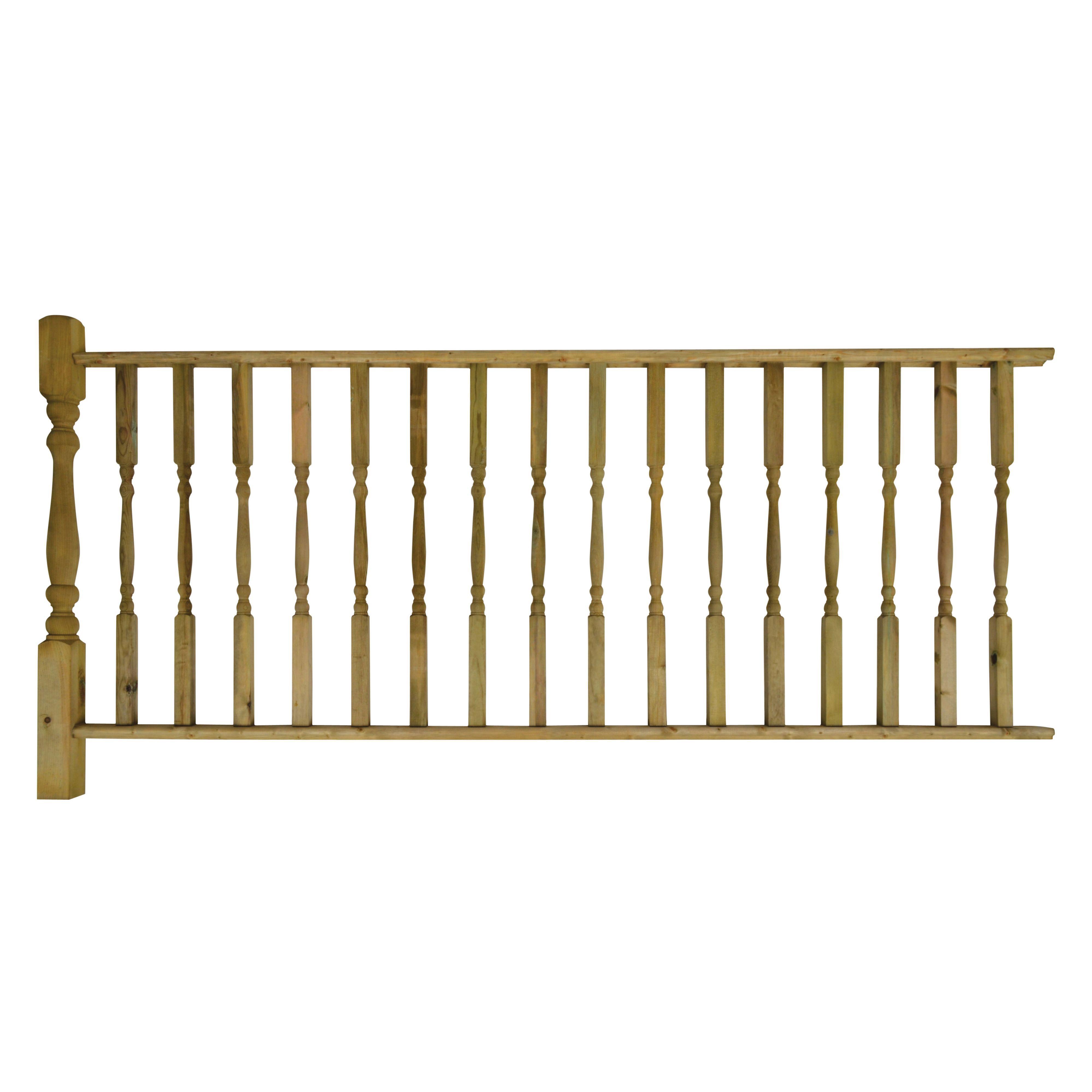 decking railing kits decking accessories decking On garden decking kits b q