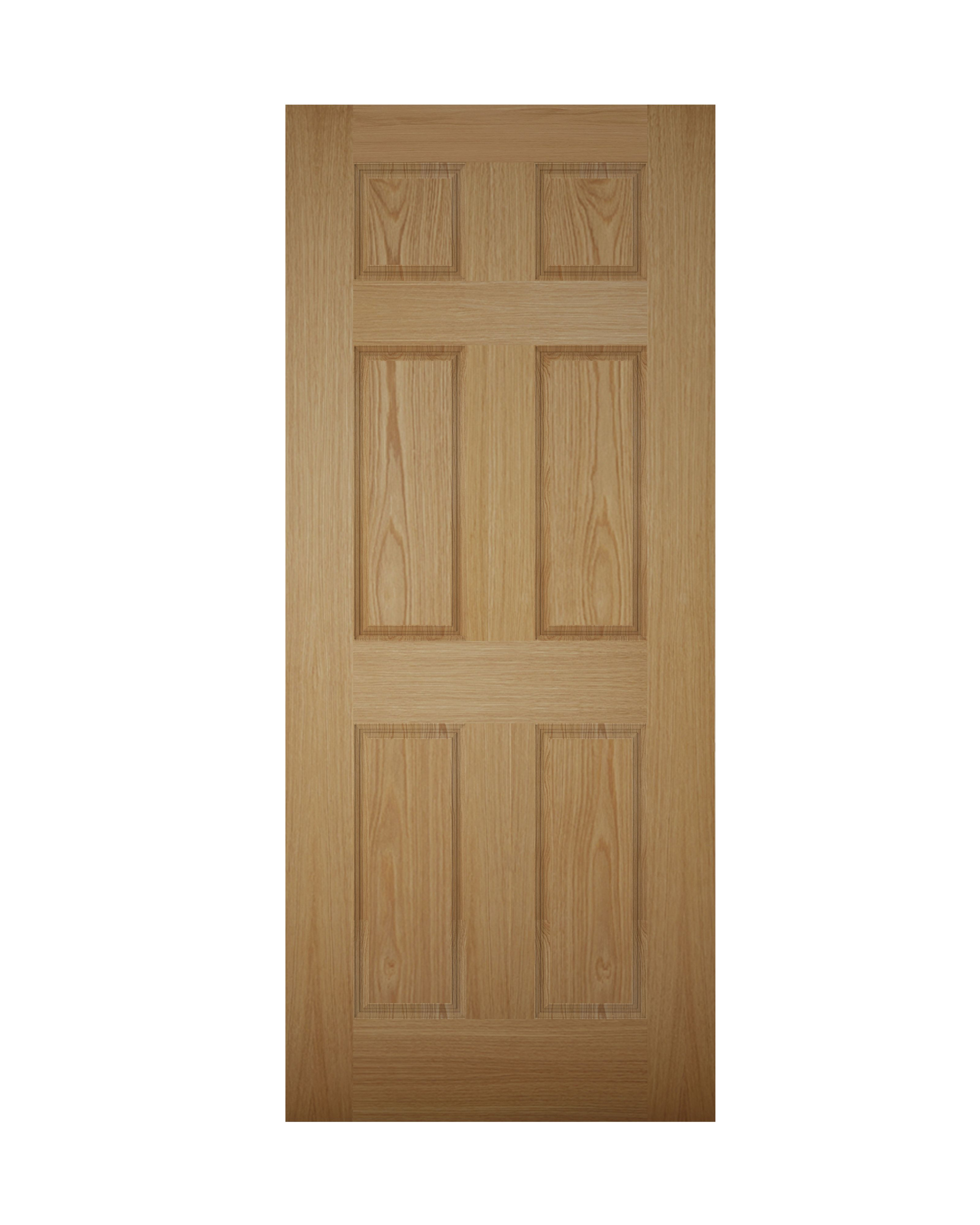 White PVCu Fully Glazed External Back Door Frame Rh H 2055mm W 840mm