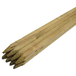 Pointed Timber Pegs (L)900mm, Pack of 8