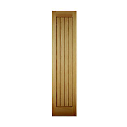 Cottage Panelled Oak Veneer Internal Unglazed Cupboard Door,