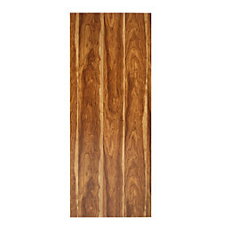Wild Flush Sapele Veneer Internal Unglazed Door, (H)1981mm