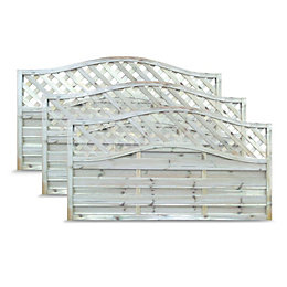 Blooma MOKCHA Decorative Fence Panel Fencing (W)1.8 M