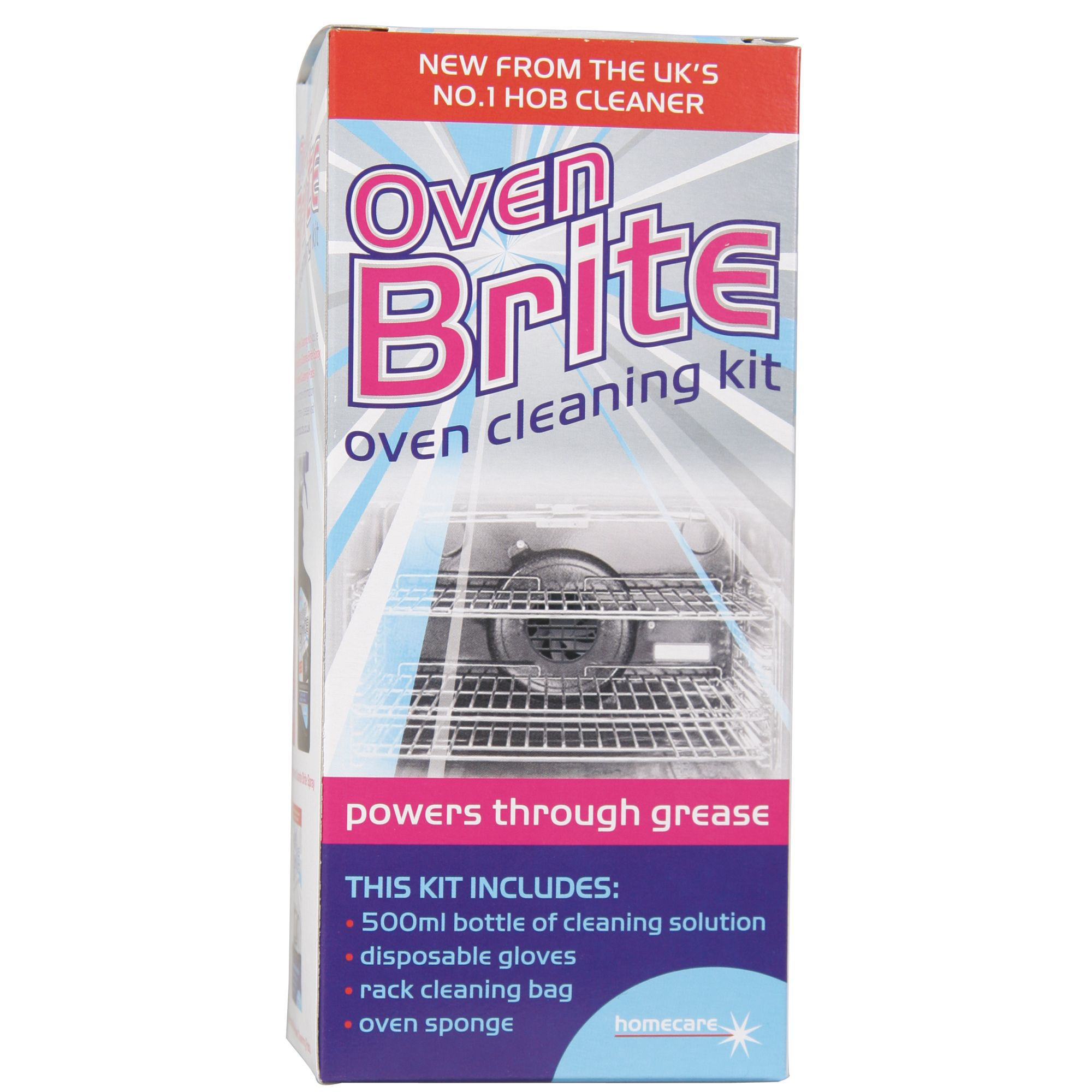 oven brite cleaning kit instructions