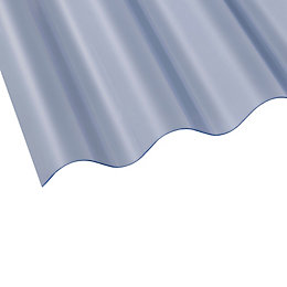 Clear Corrugated PVC Roofing Sheet 3050mm x 762mm,