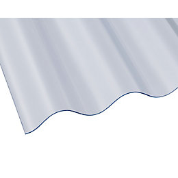 Clear PVC Roofing Sheet 2000mm x 950mm, Pack