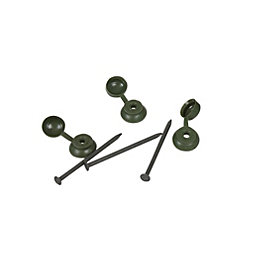 Green Coroline Fixings Pack of 400