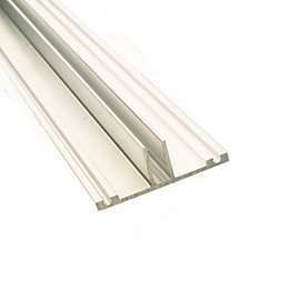 Corotherm Silver Glazing Bar Base, (H)20mm (W)60mm (L)4000mm