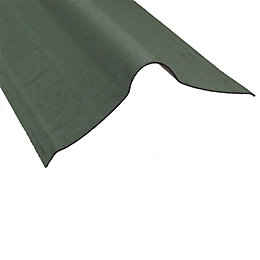Coroline Corrugated Bituminous Roofing Sheet (L)900mmmm Ridge