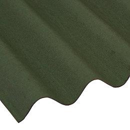 Green Bitumen Roofing Sheet 2000mm x 950mm, Pack