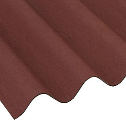 Red Bitumen Roofing Sheet 2000mm x 950mm, Pack
