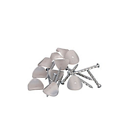 Clear Profile Fixings Pack of 200